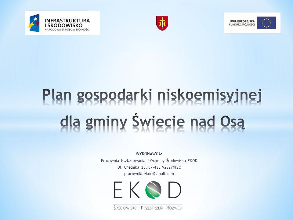 Celem nadrzędnym opracowania Planu gospodarki niskoemisyjnej jest ustalenie potrzeb i problemów występujących na terenie gminy w zakresie gospodarki niskoemisyjnej oraz wyznaczenie kierunków działań, które mają m.in.