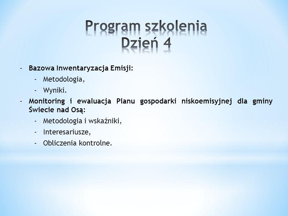 Istotną częścią wdrażania Planu Gospodarki Niskoemisyjnej dla gminy Świecie nad Osą będzie jego monitoring.