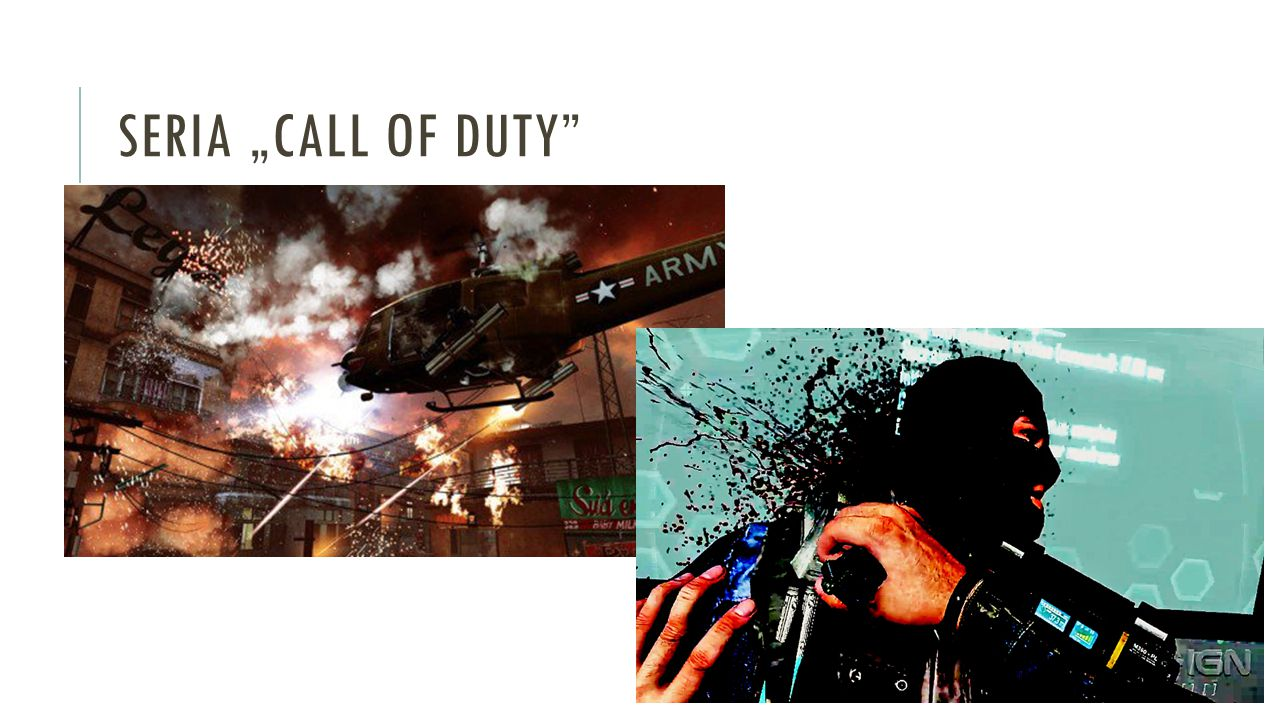 "SERIA ""CALL OF DUTY"""