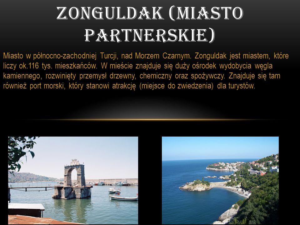 Miasto w północno-zachodniej Turcji, nad Morzem Czarnym. Zonguldak jest miastem, które liczy ok.116 tys. mieszkańców. W mieście znajduje się duży ośro