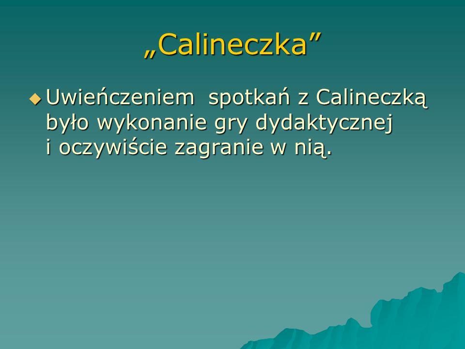 """""""Calineczka""""  Uatrakcyjnieniem lekcji były zajęcia kulinarne dopasowane tematyką do bajki m.in.: """"Śniadanie u Myszy Polnej"""", oraz deser """"Deser elfów"""""""