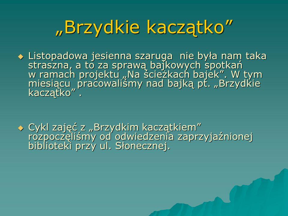"""""""Calineczka""""  Uwieńczeniem spotkań z Calineczką było wykonanie gry dydaktycznej i oczywiście zagranie w nią."""
