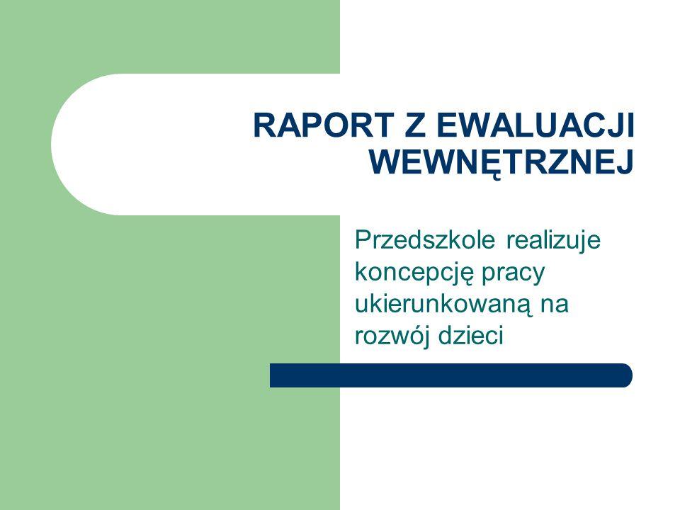 Zespół pracujący nad ewaluacją Beata Czesnowska Magdalena Pawlik-Rybicka Joanna Stokwiszewska