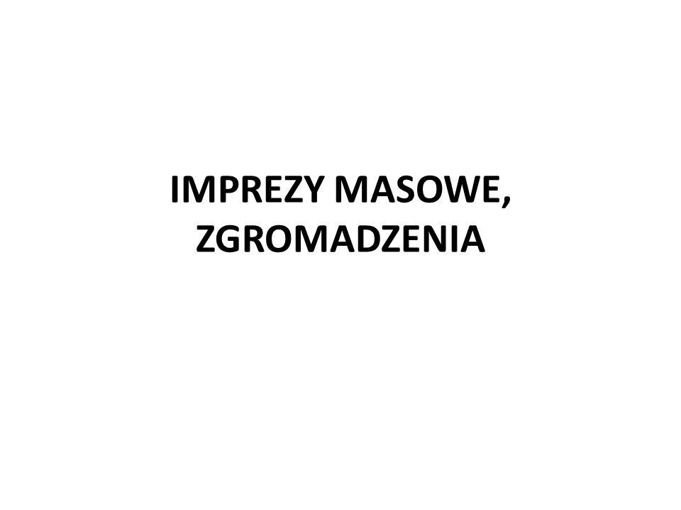 BEZPIECZEŃSTWO IMPREZ MASOWYCH 1.