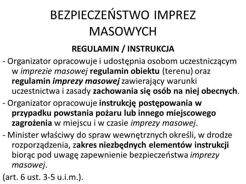 Zgromadzenia publiczne Postępowanie w sprawach zgromadzeń 1.