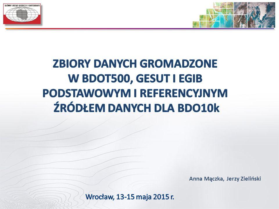 Anna Mączka, Jerzy Zieliński