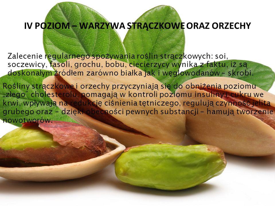 V POZIOM – JAJA I RYBY Produkty te s ą ź ród ł em pe ł nowarto ś ciowego bia ł ka.