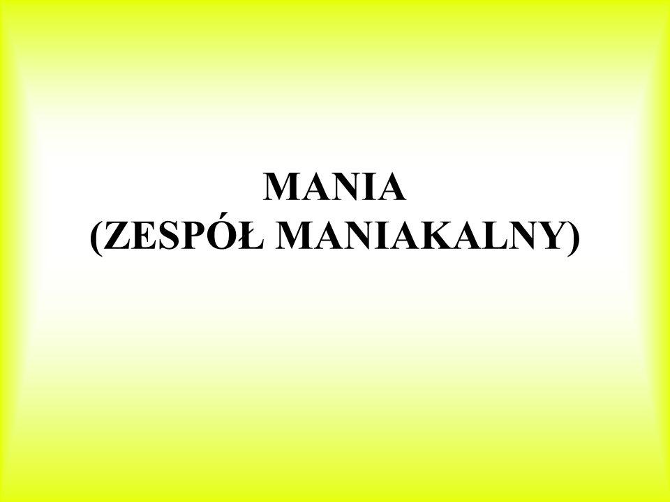 MANIA (ZESPÓŁ MANIAKALNY)
