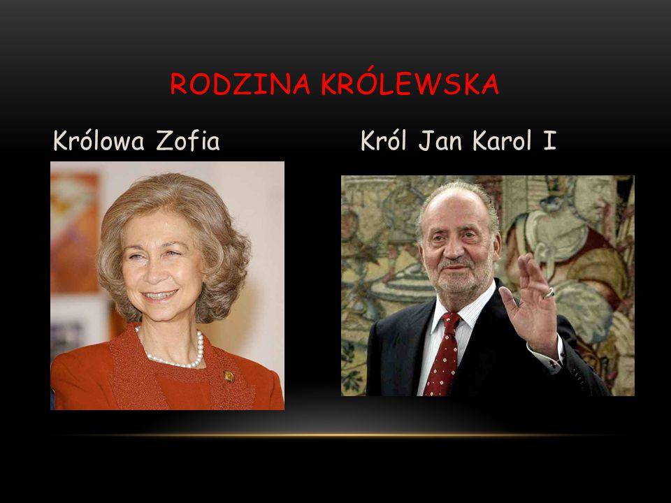 RODZINA KRÓLEWSKA Królowa ZofiaKról Jan Karol I