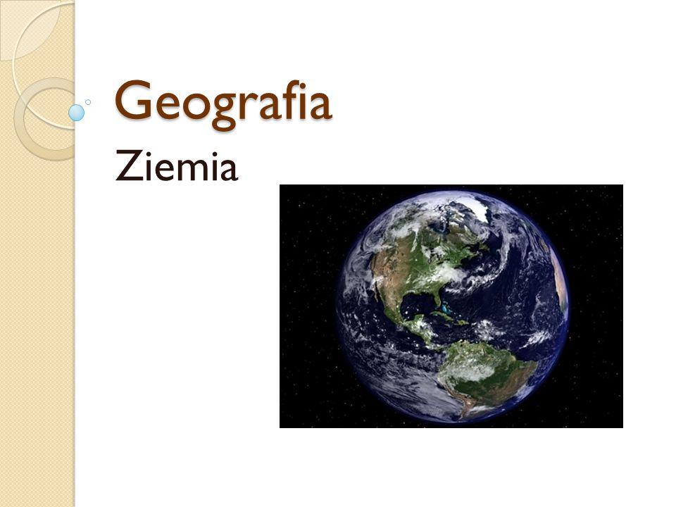 Geografia Ziemia