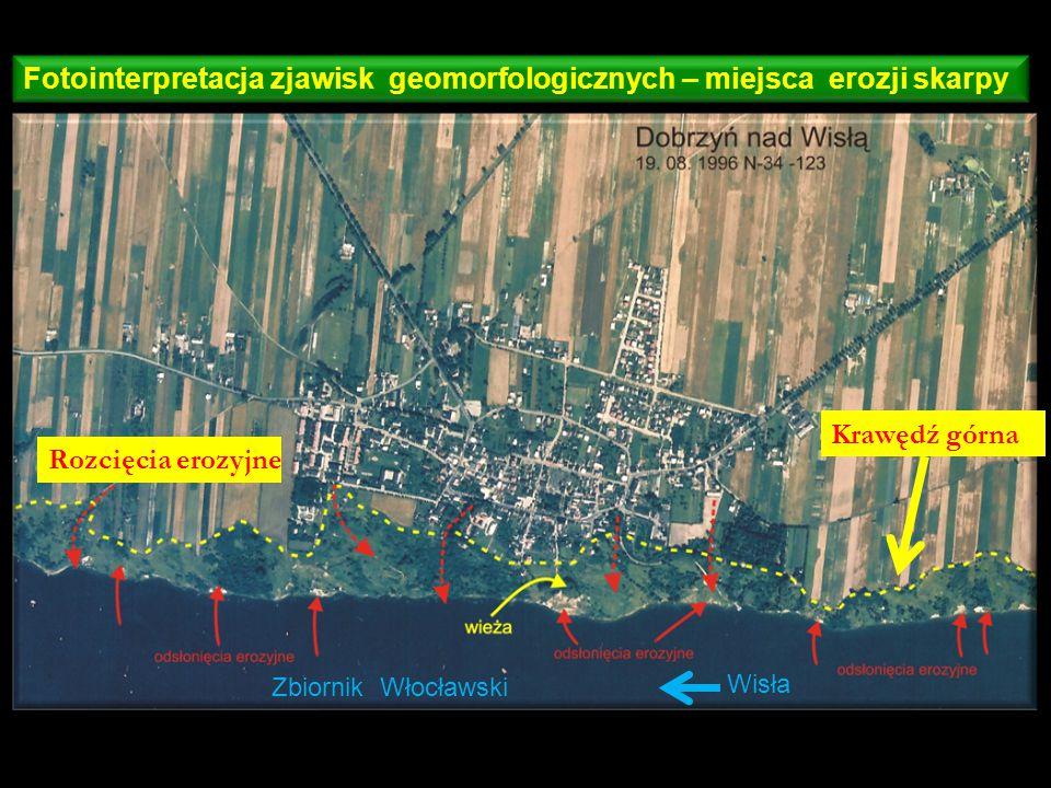 Mapa topograficzna w skali 1: 25 000 zasięg zdjęcia lotniczego w skali 1: 26 000