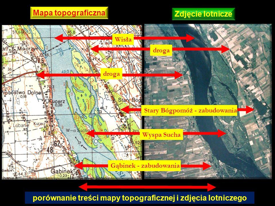 Fotointerpretacja zjawisk geomorfologicznych – miejsca erozji skarpy Krawędź górna Zbiornik Włocławski Wisła Rozcięcia erozyjne