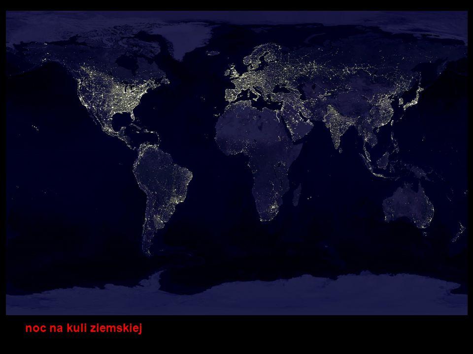pożary na kuli ziemskiej w okresie jednego roku