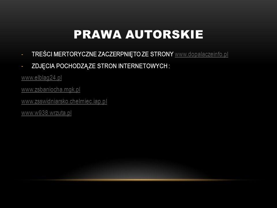 PRAWA AUTORSKIE -TREŚCI MERTORYCZNE ZACZERPNIĘTO ZE STRONY www.dopalaczeinfo.plwww.dopalaczeinfo.pl -ZDJĘCIA POCHODZĄ ZE STRON INTERNETOWYCH : www.elb