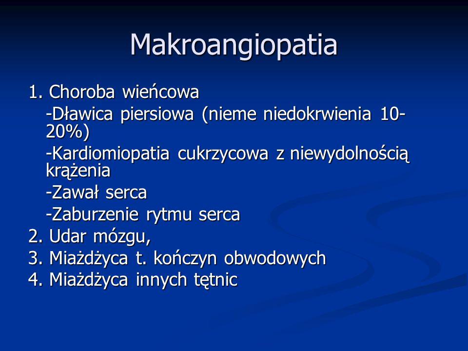 Makroangiopatia 1.