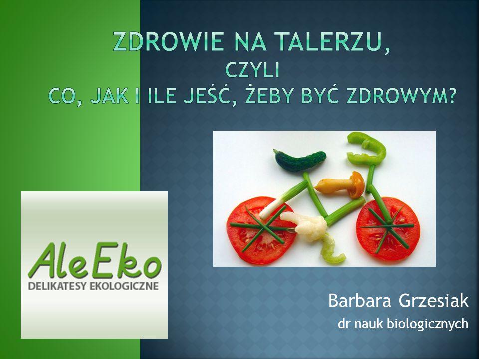 Barbara Grzesiak dr nauk biologicznych