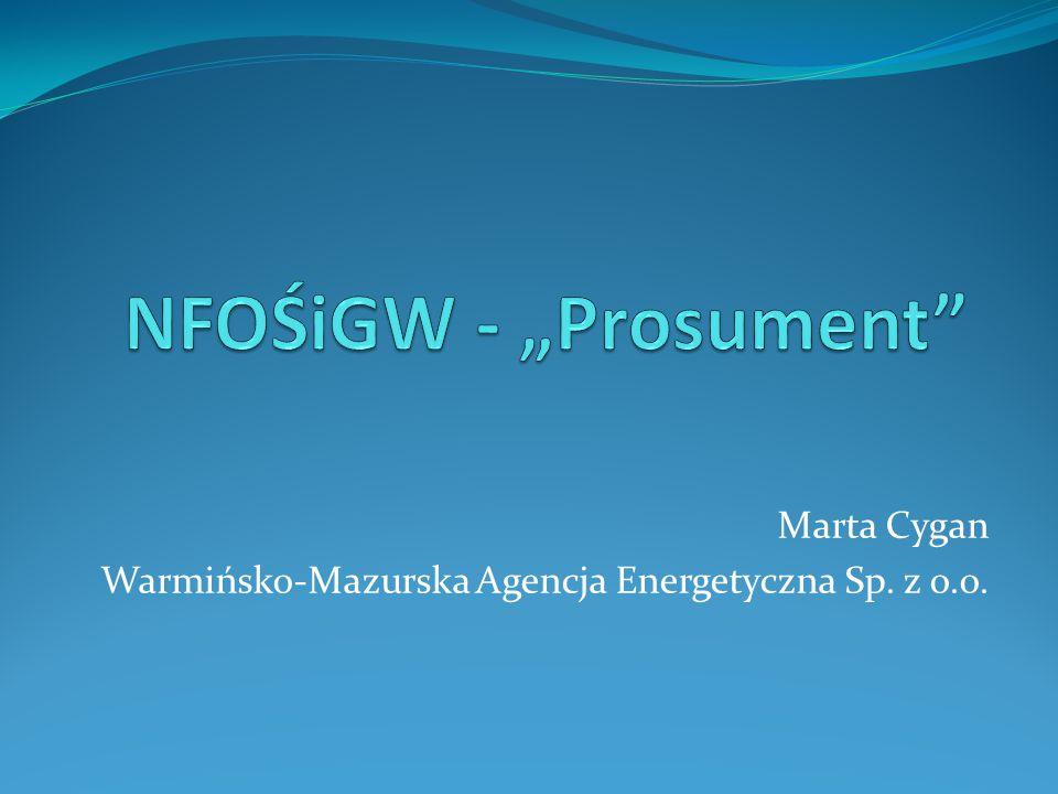 Marta Cygan Warmińsko-Mazurska Agencja Energetyczna Sp. z o.o.