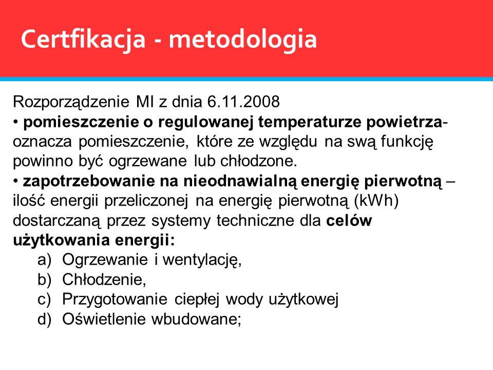 Rozporządzenie MI z dnia 6.11.2008 pomieszczenie o regulowanej temperaturze powietrza- oznacza pomieszczenie, które ze względu na swą funkcję powinno