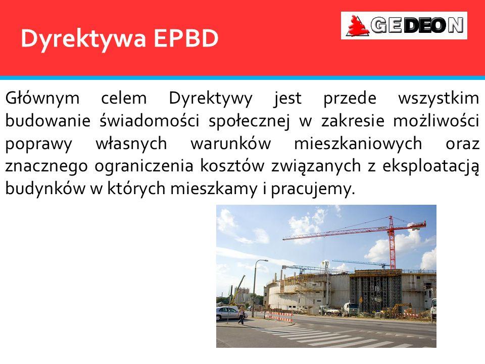 Świadectwo energetyczne Podpisane rozporządzenie w sprawie charakterystyki energetycznej budynku, wraz z jednoczesnym znowelizowaniem dwóch istniejących rozporządzeń Ministra Infrastruktury stanowi wypełnienie ustaleń Dyrektywy Europejskiej 2002/91/WE w sprawie charakterystyki energetycznej budynków.