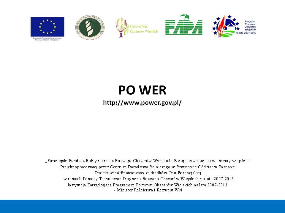 PO WER http://www.power.gov.pl/