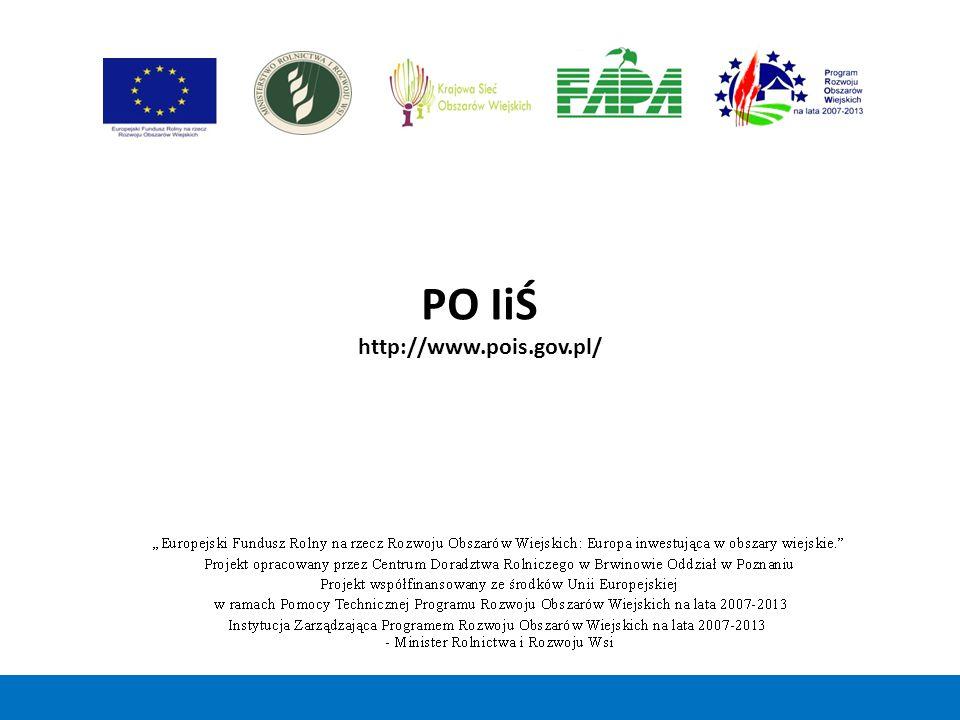 PO IiŚ http://www.pois.gov.pl/