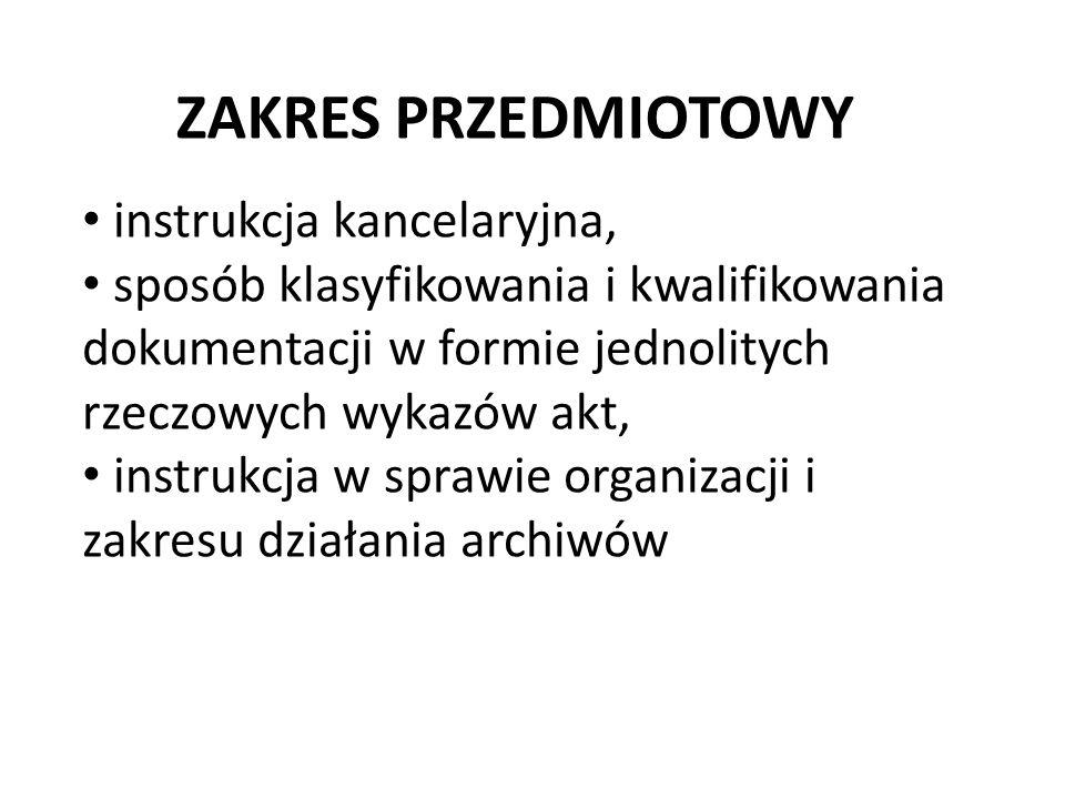 Czynności kancelaryjne w urzędach są wykonywane w systemie tradycyjnym lub w systemie EZD.
