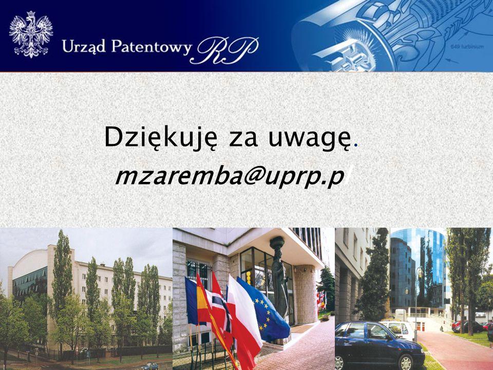 39 Dziękuję za uwagę. mzaremba@uprp.pl