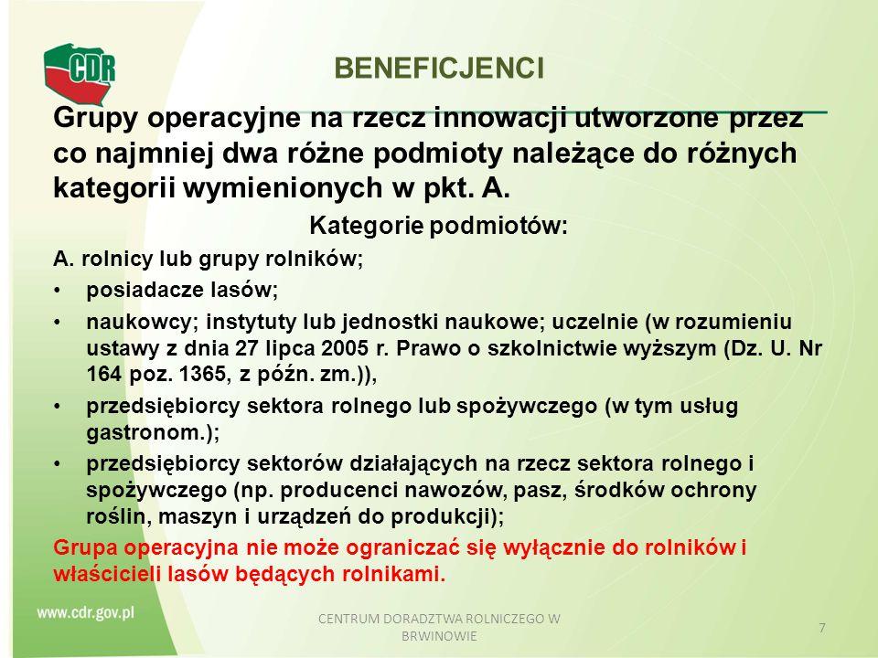BENEFICJENCI B.