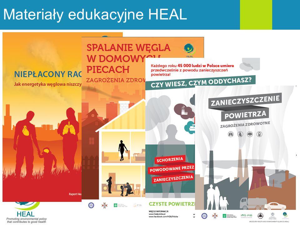 Materiały edukacyjne HEAL 10