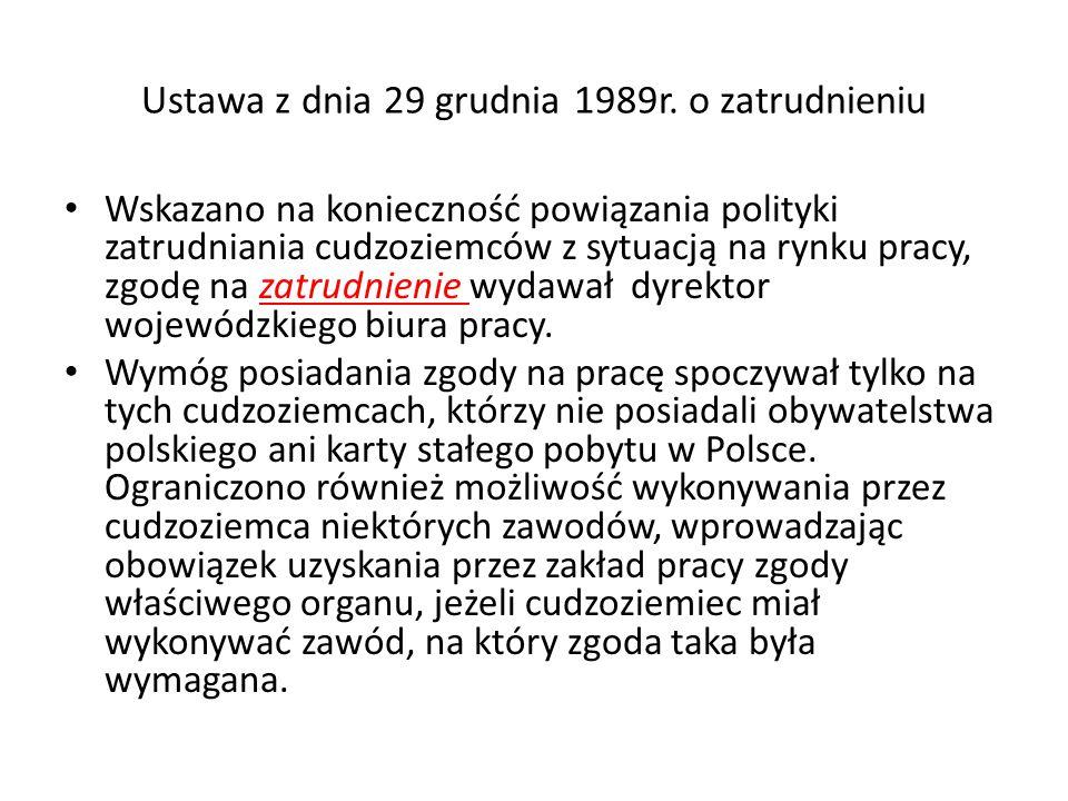 Ustawa z dnia 29 grudnia 1989r.