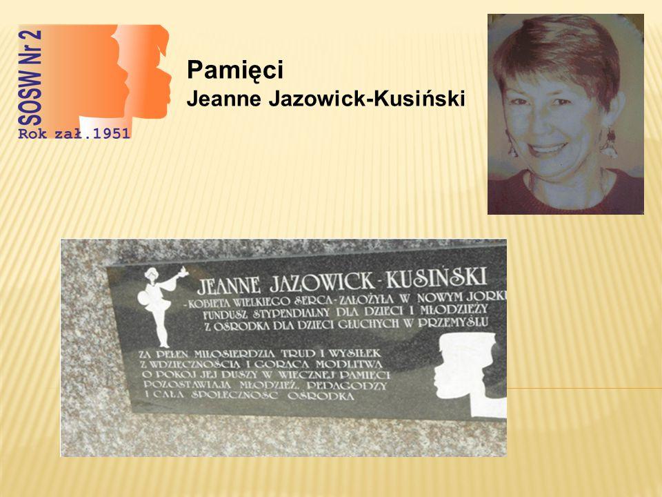 Pamięci Jeanne Jazowick-Kusiński