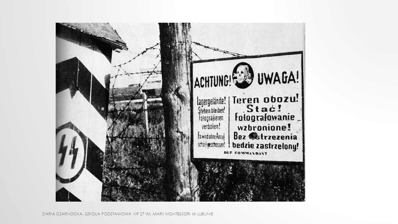 INNE KARY ZBIOROWE głodówka - za ucieczkę w 1943 r.