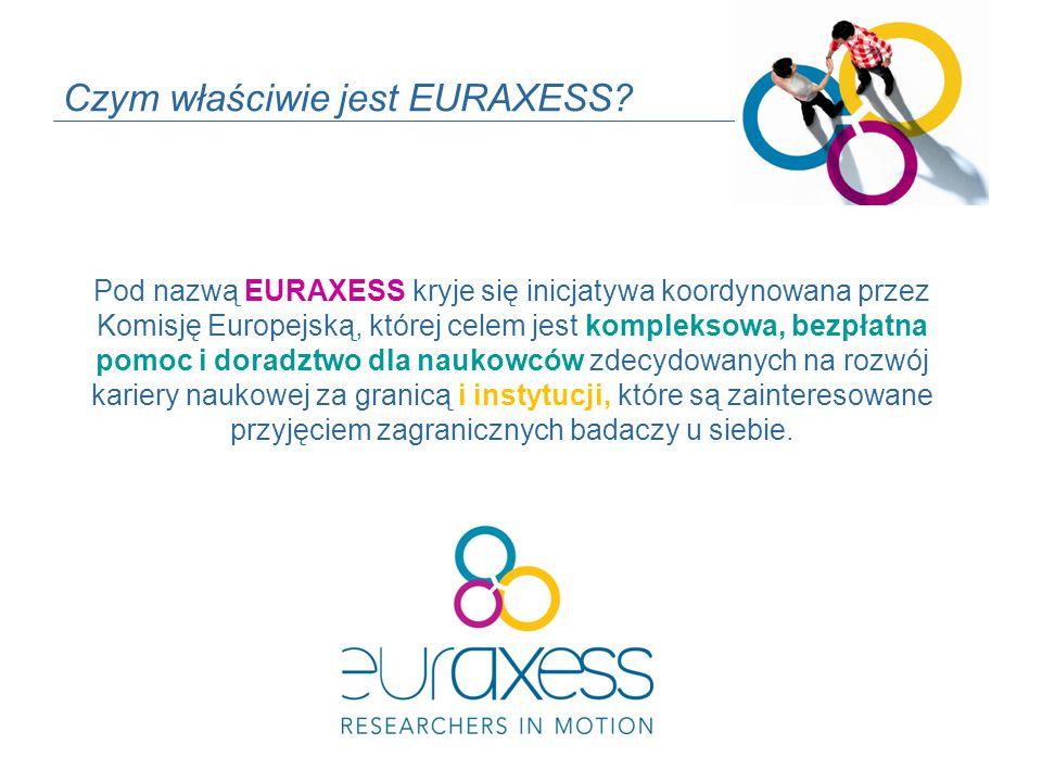 Czym właściwie jest EURAXESS.