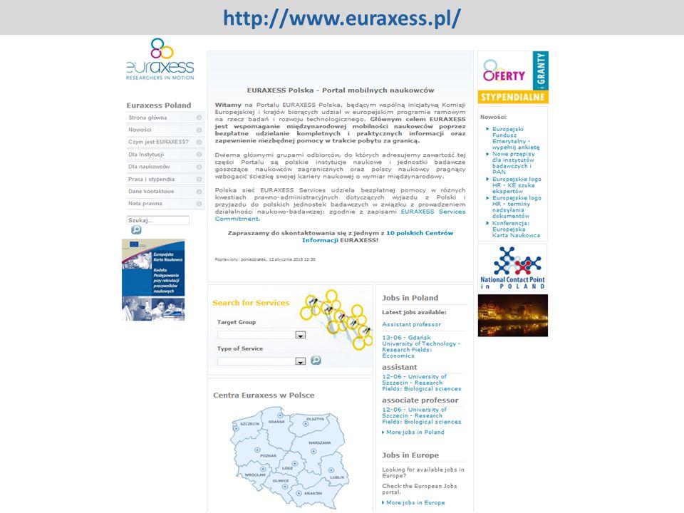 http://www.euraxess.pl/