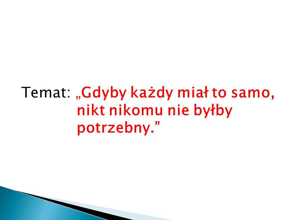 Zadanie dla chętnych Wciel się w rolę bohaterki utworu Zofii Chądzyńskiej i zredaguj jej następny, tym razem optymistyczny wpis do pamiętnika, zaczynający się np.