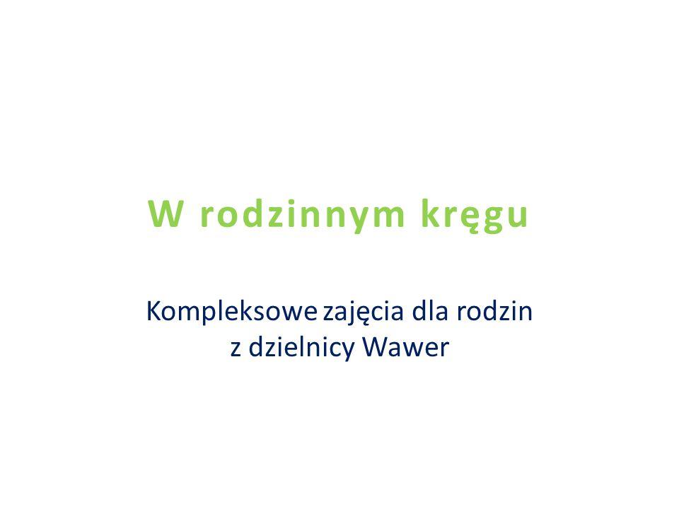 W rodzinnym kręgu Kompleksowe zajęcia dla rodzin z dzielnicy Wawer