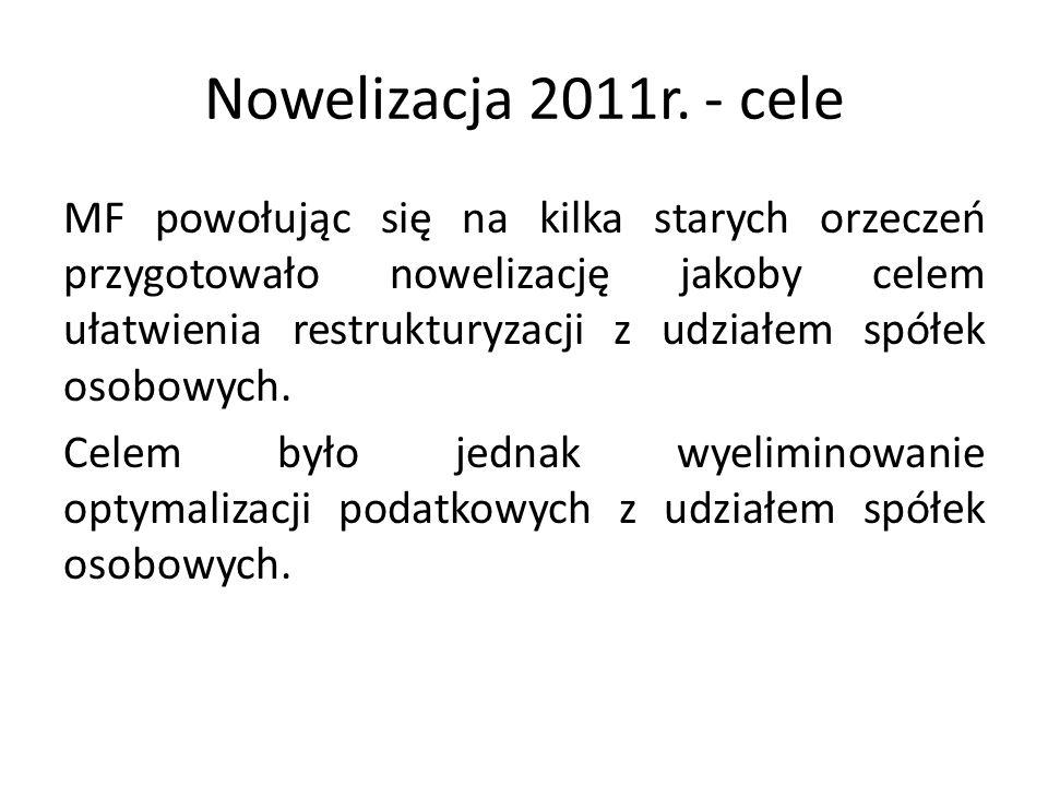 Nowelizacja 2011r.