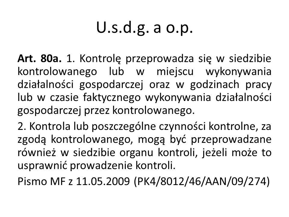 U.s.d.g.a o.p. Art. 80a. 1.