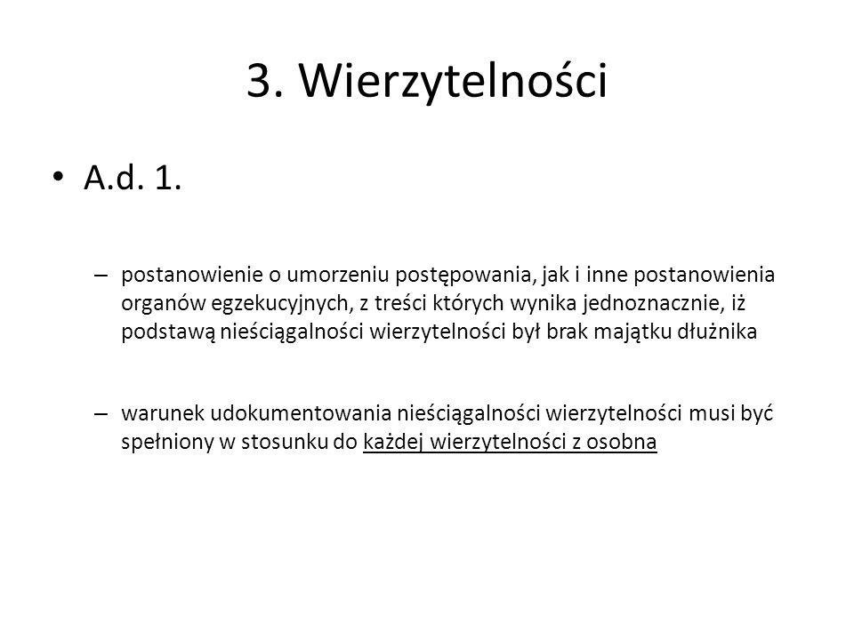 3.Wierzytelności A.d. 1.