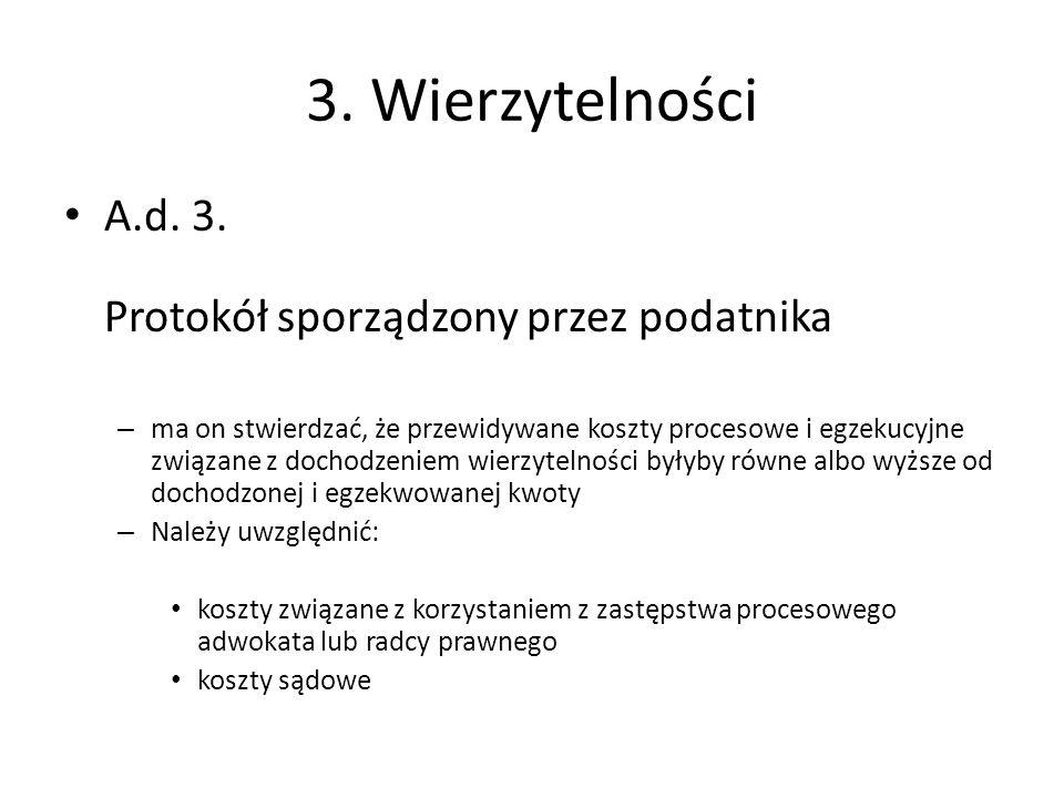 3.Wierzytelności A.d. 3.