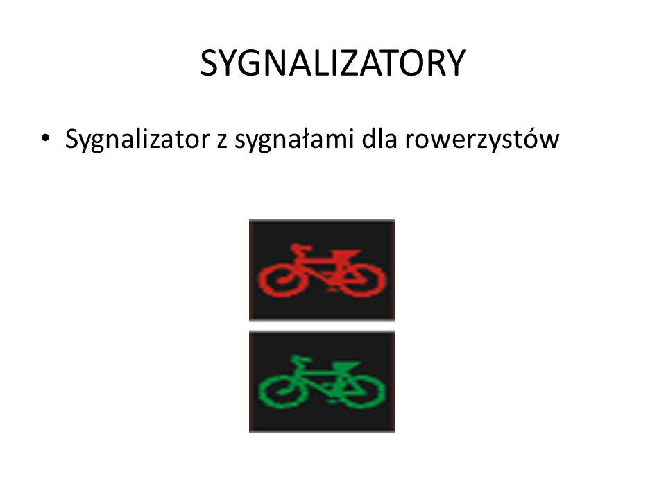 SYGNALIZATORY Sygnalizator z sygnałami dla rowerzystów