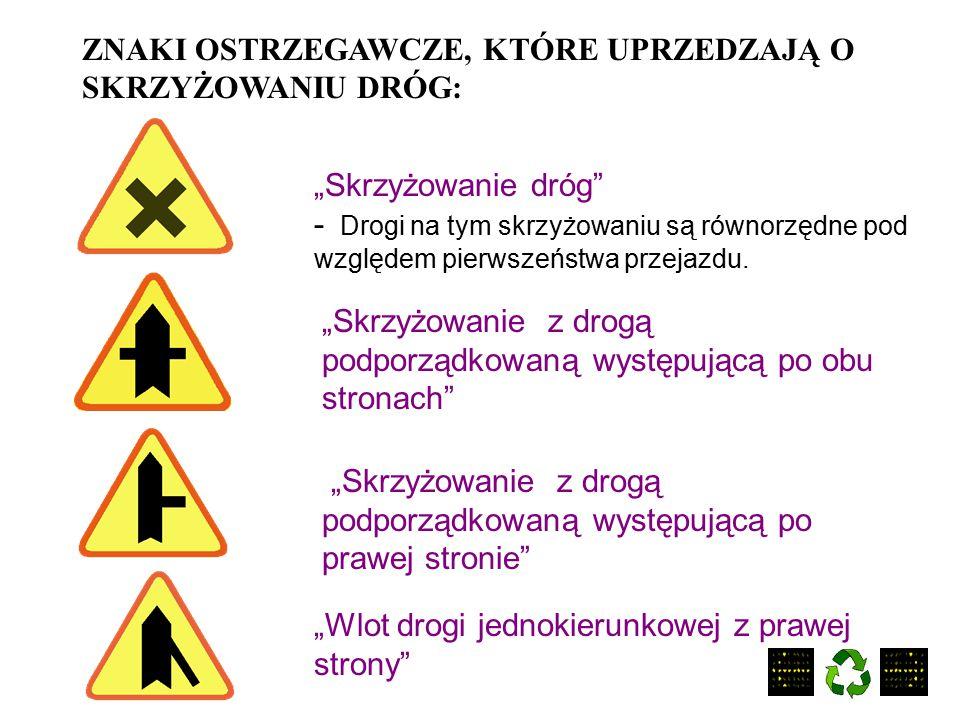 """Znaki drogowe z zakresu karty rowerowej """"Niebezpieczny zakręt w prawo"""" - Znak ten ostrzega o niebezpiecznym zakręcie w kierunku wskazanym na znaku. """"D"""