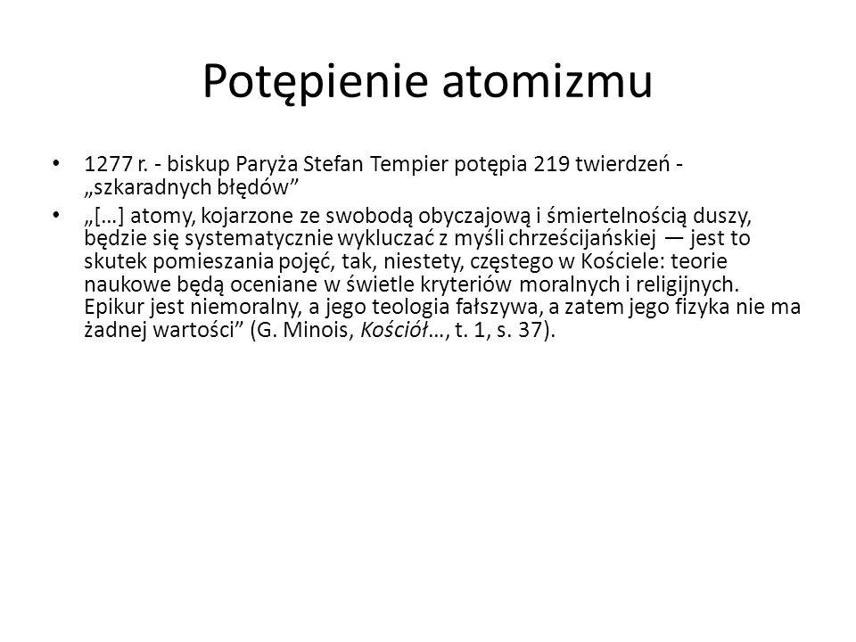 Potępienie atomizmu 1277 r.