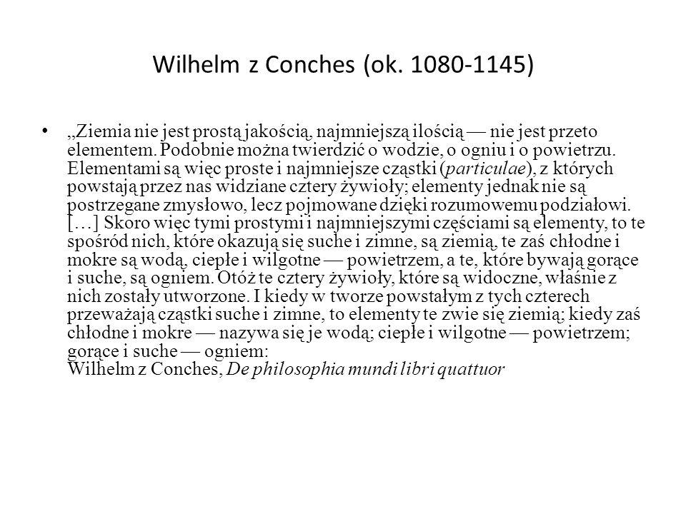 Wilhelm z Conches (ok.