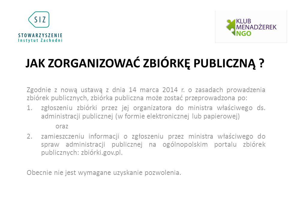 Zgodnie z nową ustawą z dnia 14 marca 2014 r.