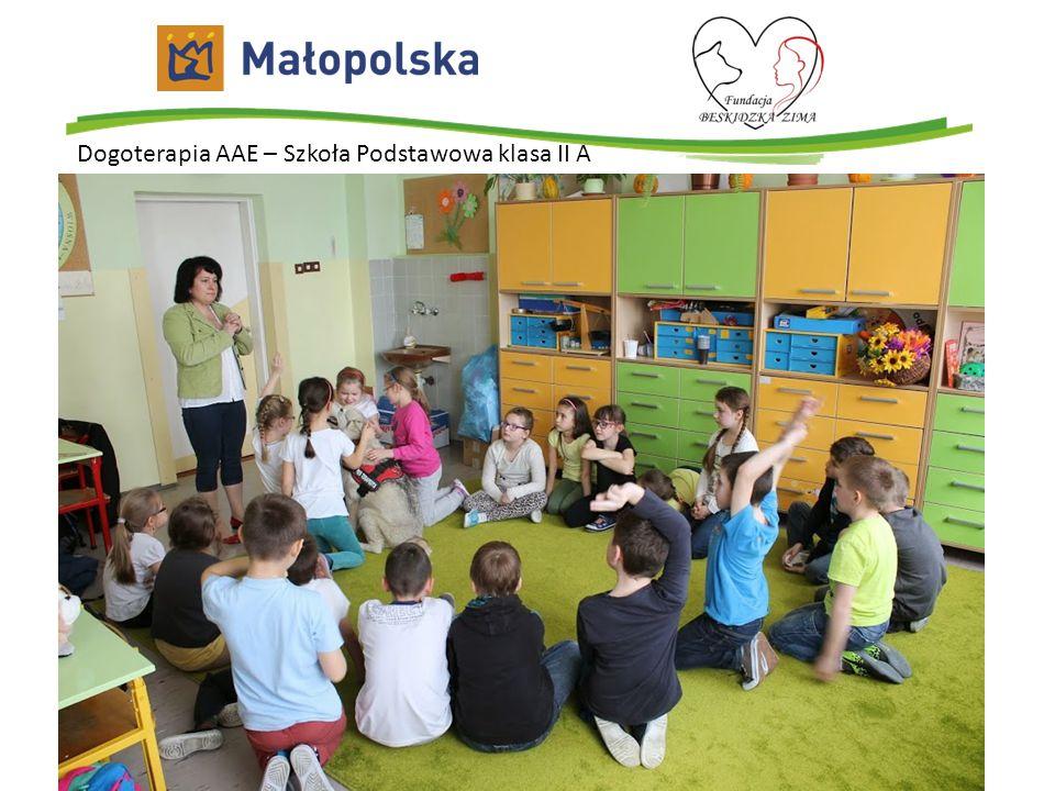 Dogoterapia AAE – Szkoła Podstawowa klasa II A