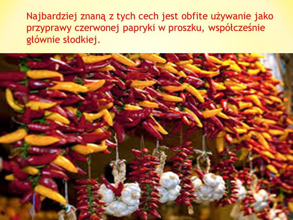 Kuchnia węgierska –należy do kuchni środkowoeuropejskich, wyróżnia się jednak pośród nich charakterystycznymi cechami, co w połączeniu z jej wysoką ja