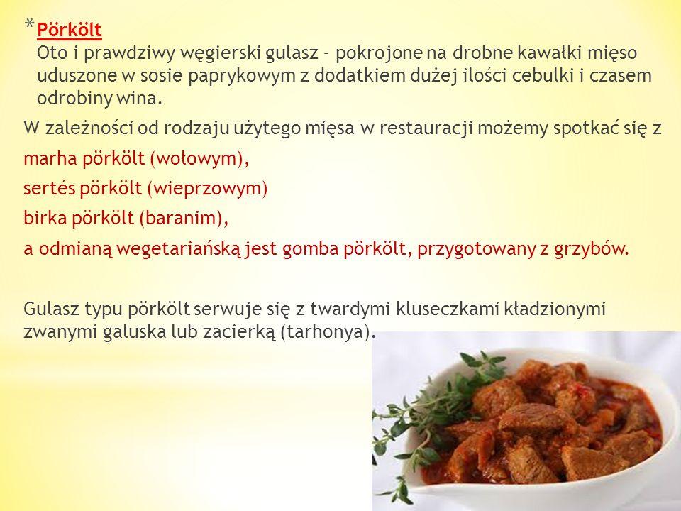 Podstawę kuchni węgierskiej stanowi cebula, papryka, mięso (tradycyjnie wieprzowe lub wołowe) i... smalec. Na bazie tych kilku składników przygotowywa
