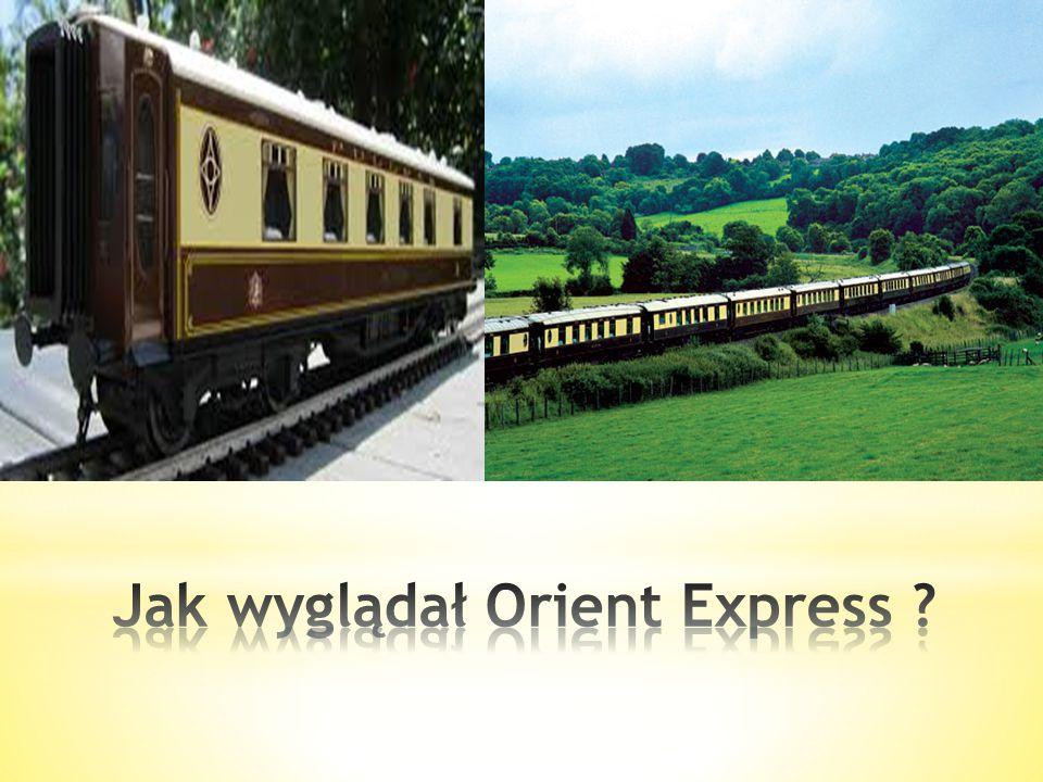 Nazwa luksusowego pociągu pasażerskiego, który kursował pod szyldem międzynarodowej spółki Compagni Internationale des Wagons-Lits. Pomysłodawcą i zał