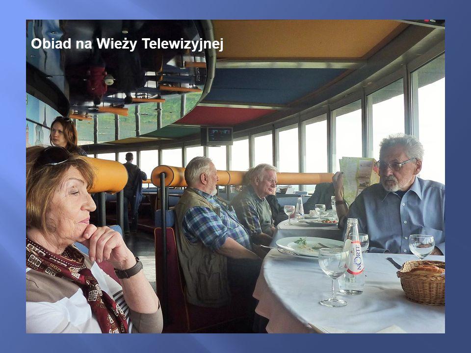 Obiad na Wieży Telewizyjnej